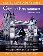C for Programmers by Paul J. Deitel