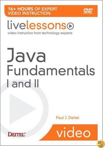 Java Fundamentals I and II LiveLesson (Video Training) (Pt. 1-2)