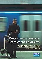 Programming Language Concepts and Paradigms…