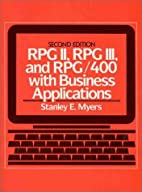 RPG II, RPG III, and RPG/400 with Business…