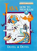 Java How to Program 2nd Edition by Harvey M.…