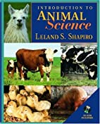Introduction to Animal Science by Leland…
