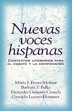 Nuevas voces hispanas: contextos literarios…