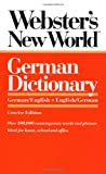 [???]: Webster&#39;s New World German Dictionary: German/English English/German