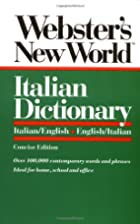 Webster's New World Italian Dictionary:…