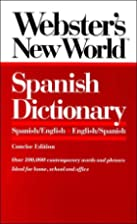 Webster's New World Spanish Dictionary by…