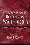 Coats, Erik J.: Contemporary Readings in Psychology: A New York Times Reader