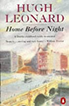 Home Before Night (Methuen Biography) by…