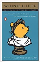 Winnie Ille Pu (Latin Edition) by A. A.…