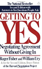 Getting to Yes: Negotiating Agreement&hellip;