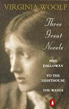 Virginia Woolf:  Mrs.Dalloway  ,  To the…