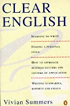 Clear English (A Penguin Self-Starter) by…