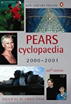 Pears Cyclopaedia by Chris Cook