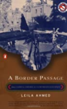 A Border Passage: From Cairo to America--A…