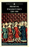 Medieval English Lyrics 1200 1400
