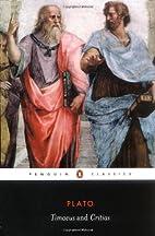 Timaeus and Critias (Penguin Classics) by…