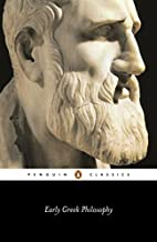 Early Greek Philosophy by Jonathan Barnes