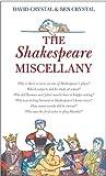 Crystal, David: Shakespeare Miscellany