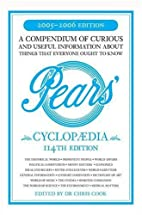 Pears Cyclopaedia 2005-2006 by Chris Cook