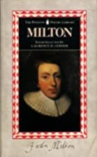 Milton (Penguin Poetry Library) by John…