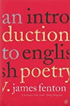 An introduction to English poetry by James…