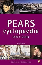 Pears Cyclopaedia 2003-2004 by Chris Cook