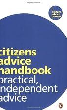 Citizens Advice Handbook by Citizens Advice…