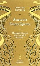 Across the Empty Quarter (Penguin Great…