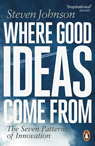 Cover of Where Good Ideas Come From by Steven Johnson