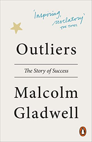 Cover of Outliers by Malcolm Gladwell