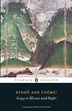 Essays in Idleness and Hojoki (Penguin…