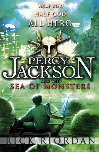 Cover of Percy Jackson and the Sea of Monsters by Rick Riordan