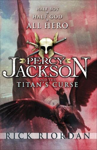 Cover of Percy Jackson and the Titan's Curse by Rick Riordan