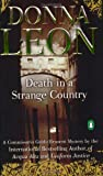 Donna Leon: Death in a Strange Country (Guido Brunetti, No. 2)