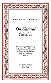 On Natural Selection (Penguin Great Ideas)…