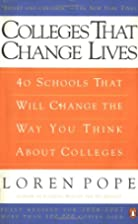 Colleges That Change Lives: 40 Schools That…