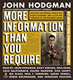 Hodgman, John: More Information Than You Require Adapted