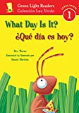 Moran, Alex: What Day Is It?/ Que Dia Es Hoy?