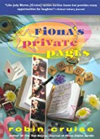 Fiona's Private Pages by Robin Cruise