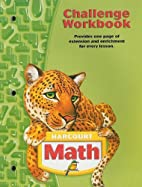Harcourt School Publishers Math: Challenge…
