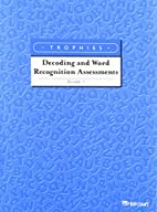 Decoding/Word Recognition Assessment Grade 1…