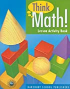 Think Math, Grade 3 Lesson Activity Book:…