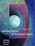 Joan Welkowitz: Introductory Statistics for the Behavioral Sciences