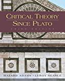 Adams, Hazard: Critical Theory Since Plato