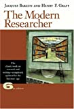 Barzun, Jacques: The Modern Researcher (with InfoTrac)