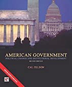 American government : political change and…