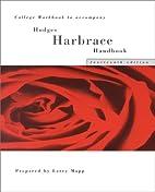 Hodges Harbrace Handbook College Workbook by…