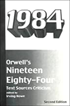 Orwell's Nineteen Eighty-Four: Text,…