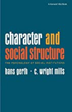 Character and Social Structure: The…
