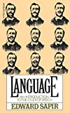 Edward Sapir: Language: An Introduction to the Study of Speech